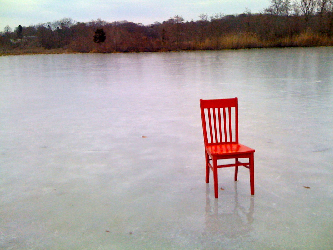 Original picture of the Red Chair courtesy of Woods Hole Innn